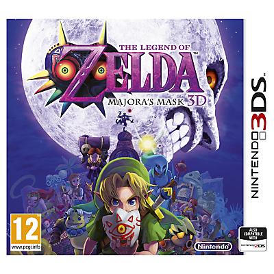 The Legend of Zelda, Majora's Mask 3D, 3DS
