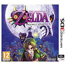 Buy The Legend of Zelda, Majora's Mask 3D, 3DS Online at johnlewis.com