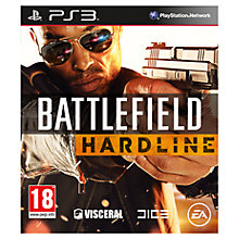 Buy Battlefield Hardline, PS3 Online at johnlewis.com
