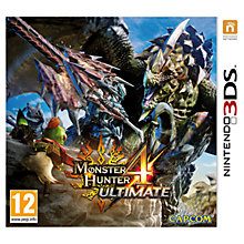 Buy Monster Hunter 4 Ultimate, 3DS Online at johnlewis.com