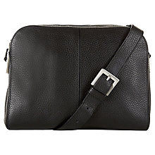 Buy Hobbs Tilbury Leather Across Body Bag Online at johnlewis.com