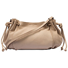 Buy Gerard Darel Mini 24 Heures Leather Handbag, Pink Online at johnlewis.com