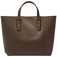 Buy Gerard Darel Soho Leather Handbag, Camel Online at johnlewis.com