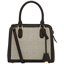 Buy Jaeger Mini Lane Multifuction Bag, Black/White Online at johnlewis.com
