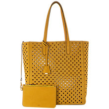 Buy Jaeger Stone Laser Cut Tote Bag Online at johnlewis.com