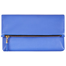 Buy Jaeger Harper Leather Clutch Bag Online at johnlewis.com
