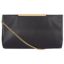 Buy Jaeger Marylebone Clutch, Midnight Online at johnlewis.com