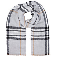 Buy John Lewis Double Faced Cashmink Check Wrap Online at johnlewis.com