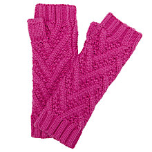 Buy John Lewis Zig Zag Pattern Handwarmers Online at johnlewis.com