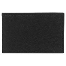 Buy Reiss Fox Leather Card Holder, Black Online at johnlewis.com