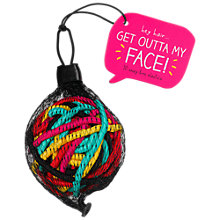Buy Happy Jackson Get Outta My Face Hairband Ball, Pack of 30 Online at johnlewis.com