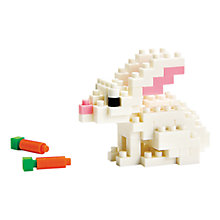 Buy Nanoblock White Rabbit Online at johnlewis.com