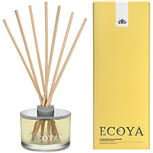 Buy Ecoya Lemon and Ginger Diffuser, 200ml Online at johnlewis.com
