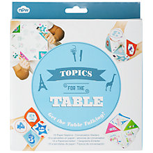 Buy NPW Topics For The Table Napkins, Pack of 10 Online at johnlewis.com
