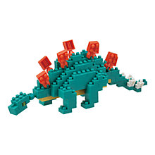 Buy Nanoblock Stegosaurus Online at johnlewis.com