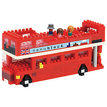 Buy Nanoblock London Bus Online at johnlewis.com