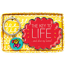 Buy Happy Jackson Key to Life Keyring Online at johnlewis.com
