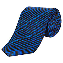 Buy Jaeger Roped Stripe Silk Tie Online at johnlewis.com