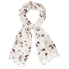 Buy Phase Eight Megan Floral Scarf, Sky Online at johnlewis.com