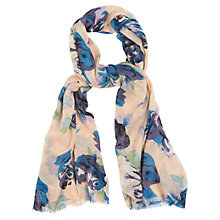Buy Phase Eight Leah Scarf, Sky Online at johnlewis.com
