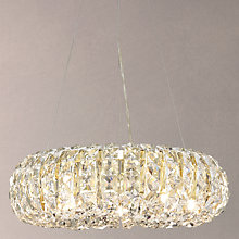 Buy John Lewis Bangles Small Crystal Brass Ceiling Light Online at johnlewis.com