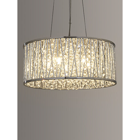 Buy John Lewis Emilia Drum Crystal Pendant Light John Lewis