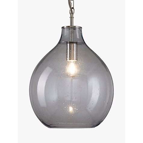 Buy John Lewis Selsey Glass Ceiling Pendant Light Blue