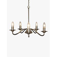 Buy John Lewis Wakefield 5 Light Ceiling Light, Satin Nickel Online at johnlewis.com