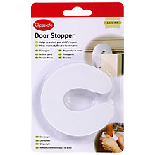 Buy Clippasafe Door Stopper, White Online at johnlewis.com