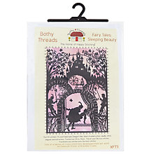 Buy Bothy Threads Fairy Tales Sleeping Beauty Cross Stitch Kit Online at johnlewis.com