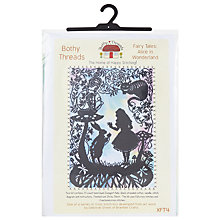 Buy Bothy Threads Alice In Wonderland Cross Stitch Kit Online at johnlewis.com