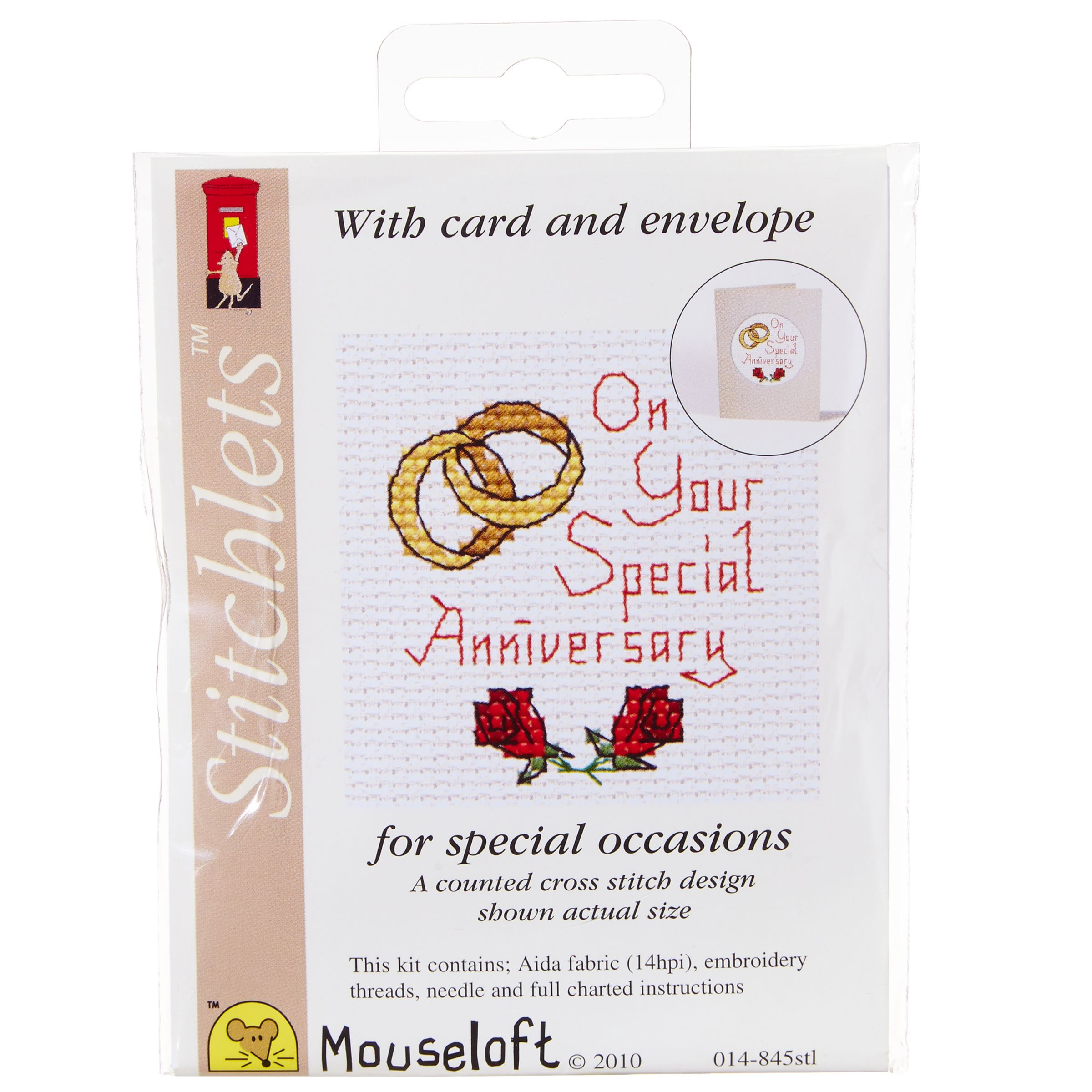 Mouseloft Mouseloft Special Anniversary Cross Stitch Kit