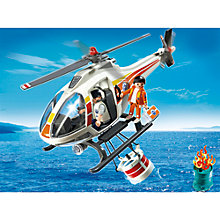 Buy Playmobil City Action Fire Fighting Helicopter Online at johnlewis.com