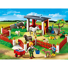 Buy Playmobil City Life Outdoor Care Station Online at johnlewis.com