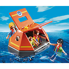 Buy Playmobil City Action Life Raft Online at johnlewis.com