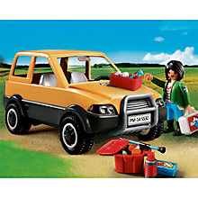 Buy Playmobil City Life Vet With Car Online at johnlewis.com