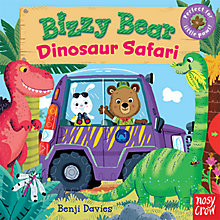 Buy Busy Bear Dinosaur Safari Book Online at johnlewis.com