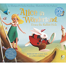 Buy Alice In Wonderland: Down The Rabbit Hole Book and CD Pack Online at johnlewis.com