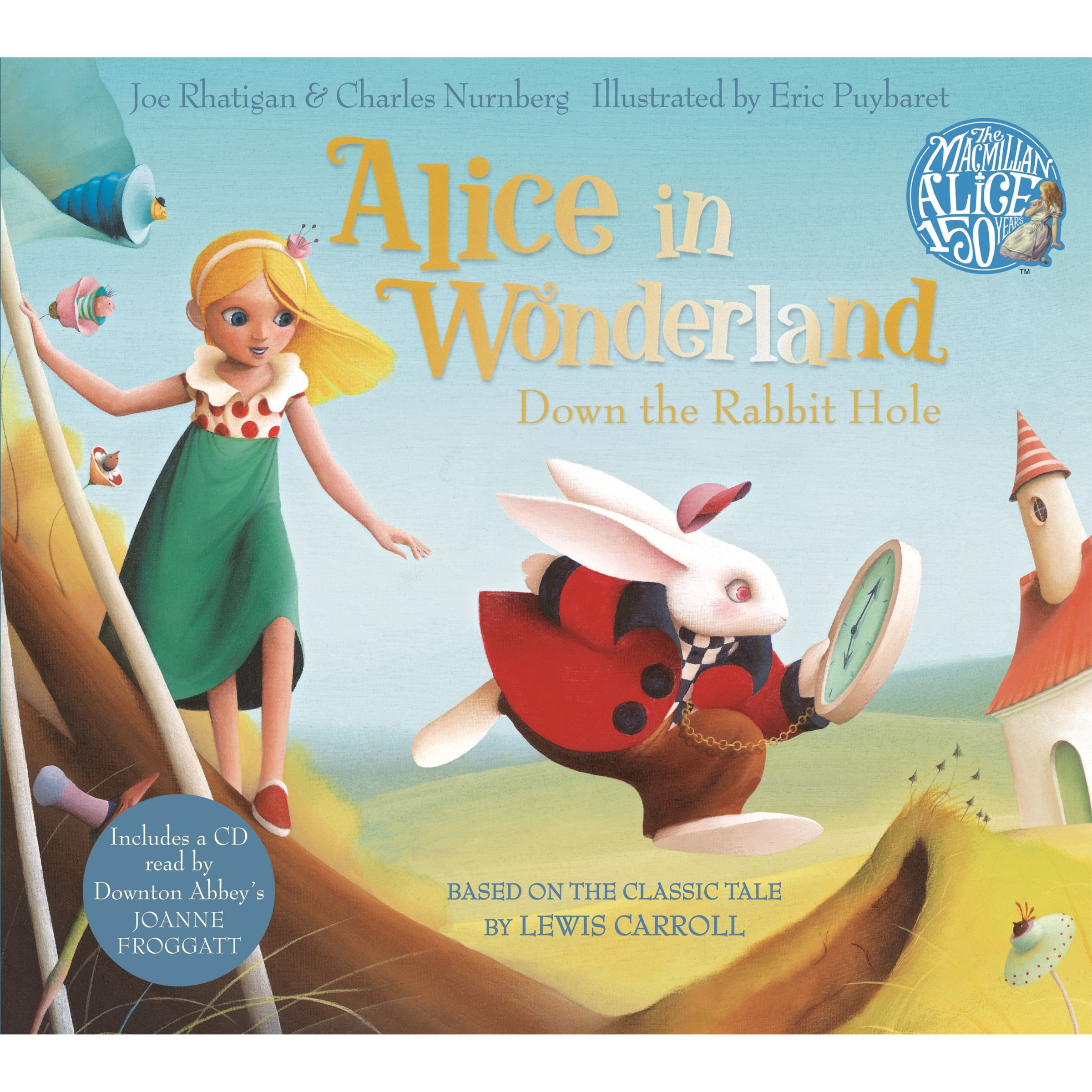 Macmillan Alice In Wonderland: Down The Rabbit Hole Book and CD Pack