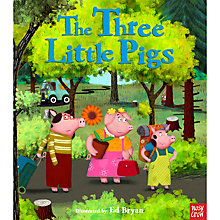 Buy The Three Little Pigs Book Online at johnlewis.com