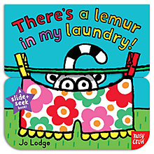 Buy Slide & Seek Book: There's A Lemur In My Laundry! Online at johnlewis.com