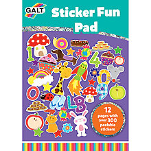 Buy Galt Sticker Fun Pad Online at johnlewis.com