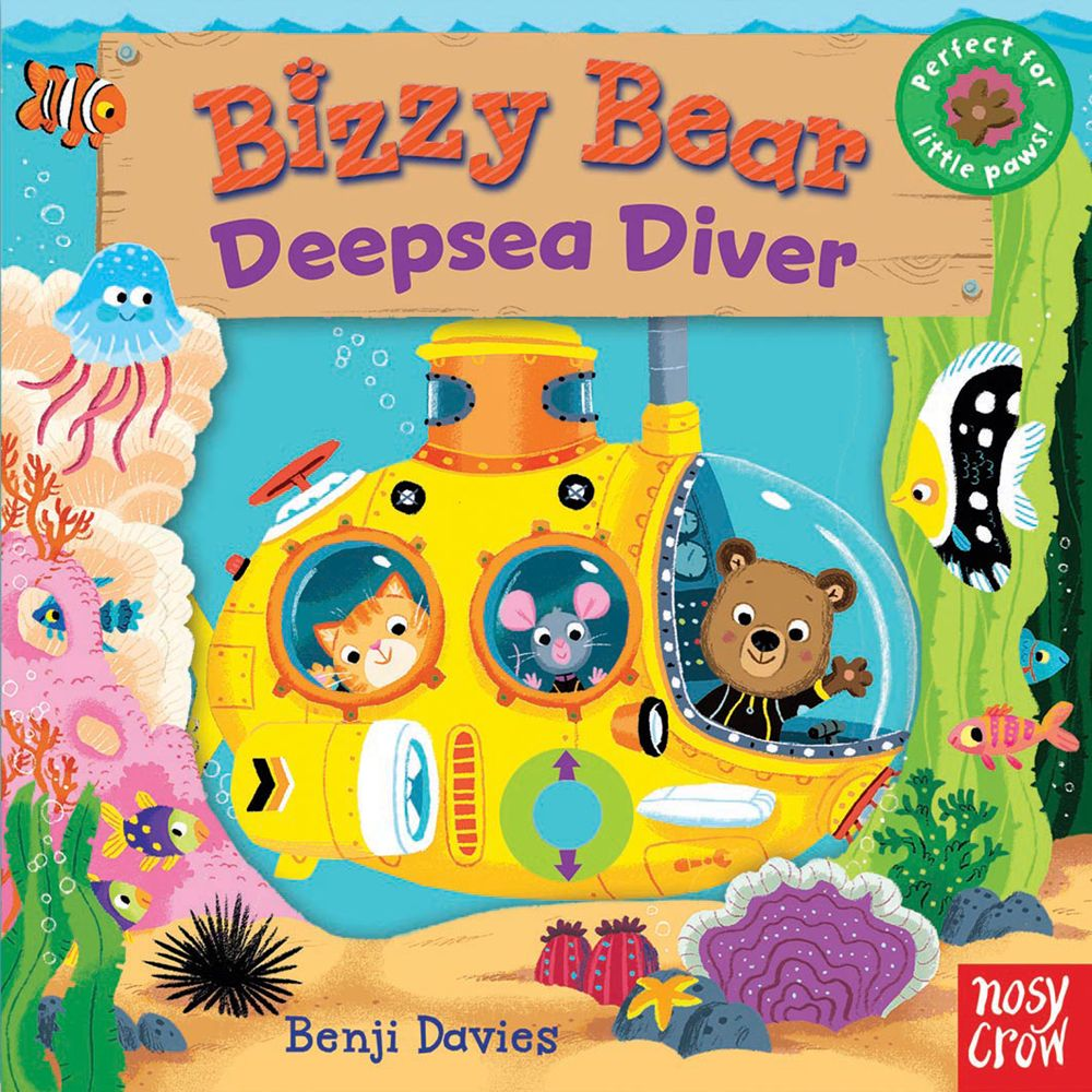 Nosy Crow Busy Bear Deepsea Diver Book