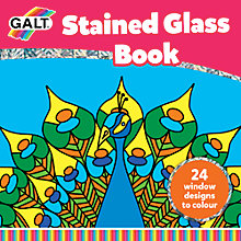Buy Galt Stained Glass Book Online at johnlewis.com