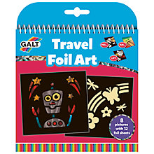 Buy Galt Travel Foil Art Online at johnlewis.com