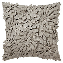 Buy John Lewis Poinsettias Cushion Online at johnlewis.com