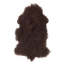 Buy John Lewis Luxury Long-Haired Sheepskin, Natural Online at johnlewis.com