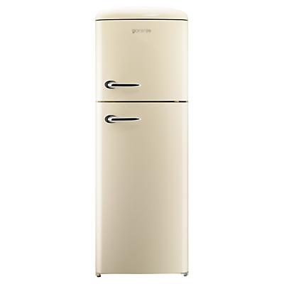 Gorenje RF60309OC Freestanding Fridge Freezer A Energy Rating RightHand Hinge 60cm Wide Cream
