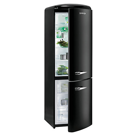 buy gorenje rk60359obk freestanding fridge freezer a. Black Bedroom Furniture Sets. Home Design Ideas
