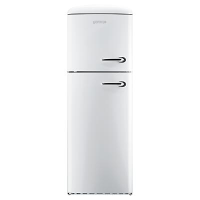 Image of Gorenje RF60309OW-L Freestanding Fridge Freezer, A++ Energy Rating, Left-Hand Hinge, 60cm Wide, Snow White